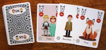 Spielzubehör zum Kartenspiel (Prototyp!)