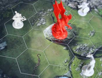 Wer spielt den Drachen und wer die Zwerge?