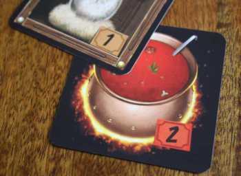 Glastonbury-Brettspiel-Zauberkessel