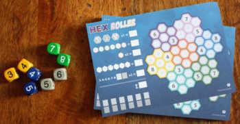 Spielzubehör von Hex Roller.