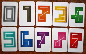 Alle Zahlenkarten aus NMBR9.