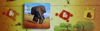 Tierkarte auf dem Plan weiterziehen.