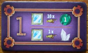 Mit der Startspielermarke lassen sich auch Aktionen durchführen.