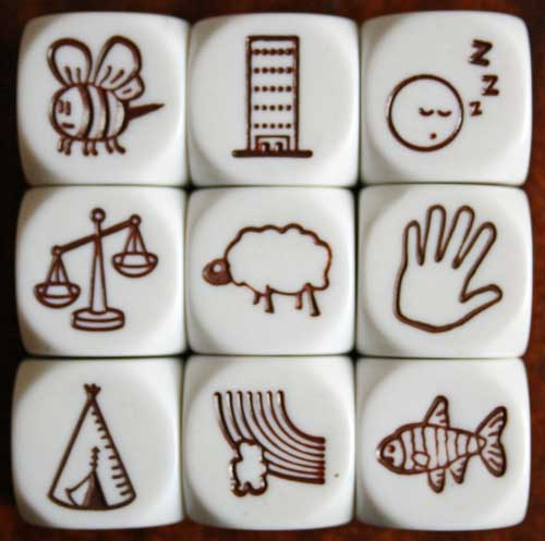 how to use story cubes
