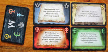 Beispiele für Zauberkarten